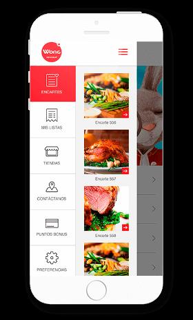 App Catálogo Wong